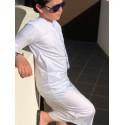 Qamis Enfant Omani Emirati Dubai - Blanc