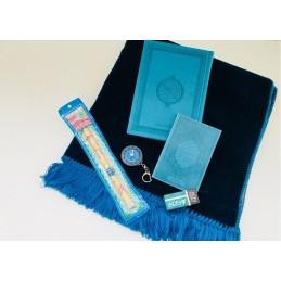 Pack Cadeau Islamique Safiy Bleu