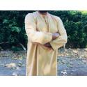 Qamis Fadel Omani Manches Longues - Beige