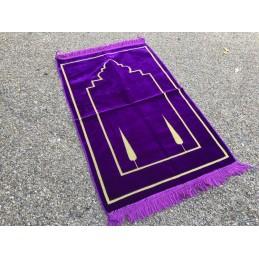 Tapis de Prière Salam Velours - Mauve