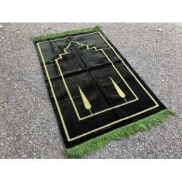 Tapis de Prière Salam Velours - Vert Kaki