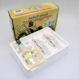 Lot de 10 kit hijama 18 pièces - Cupping thérapy - Ventouses