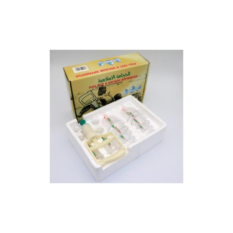 Lot de 20 Kit Hijama 18 pièces - Ventousothérapie