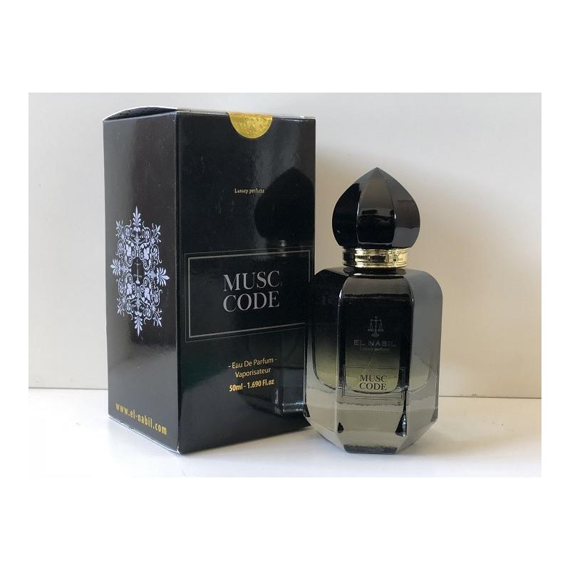 Eau de parfum Musc Code - El Nabil 50ml