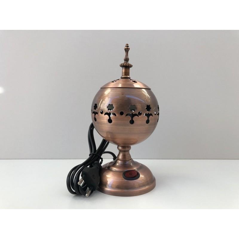 Encensoir Electrique en Métal Bukhour Deira - Bronze