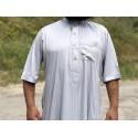 Qamis Al Safa - Gris / Beige