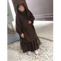 Jilbab Fillette Cape + Jupe