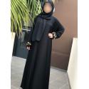 Abaya Dubai Nidha - Noir