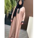 Abaya Dubai Nidha - Beige