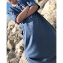Qamis Dubai Enfant Al Othaiman Bleu
