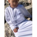 Qamis Enfant Zayd Dubai Blanc