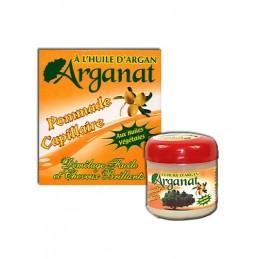 Pommade Capillaire a l'huile d'argan - Arganat