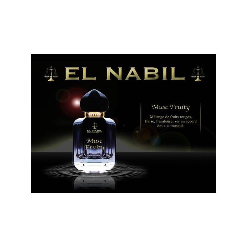 Eau de parfum Musc Fruity - El Nabil 50ml