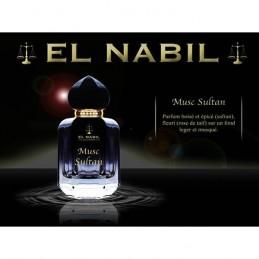 Eau de parfum Musc Sultan - El Nabil 50ml