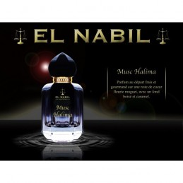 Eau de parfum Musc Halima - El Nabil 50ml