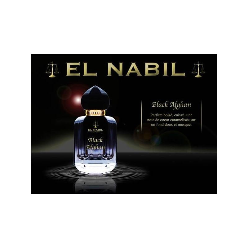 Eau de parfum Black Afghan - El Nabil 50ml