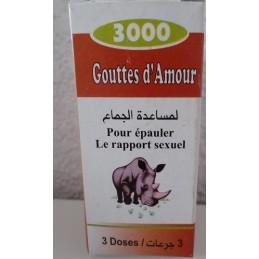 Gouttes d'Amour - 3 Doses- Miel de Soudan