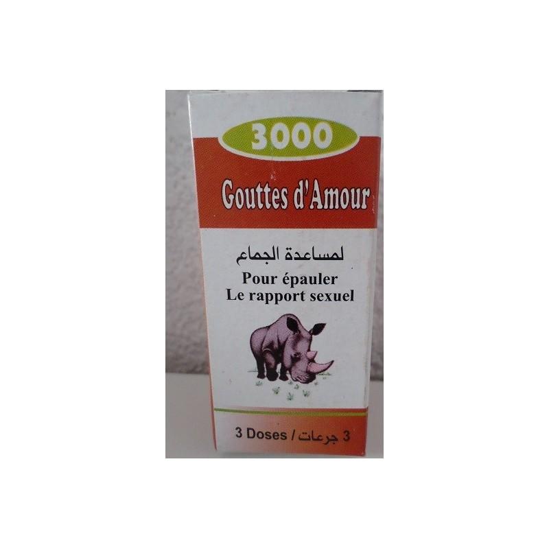 Gouttes d'Amour - 3 Doses
