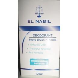 Déodorant Pierre d'Alun Naturelle - El Nabil