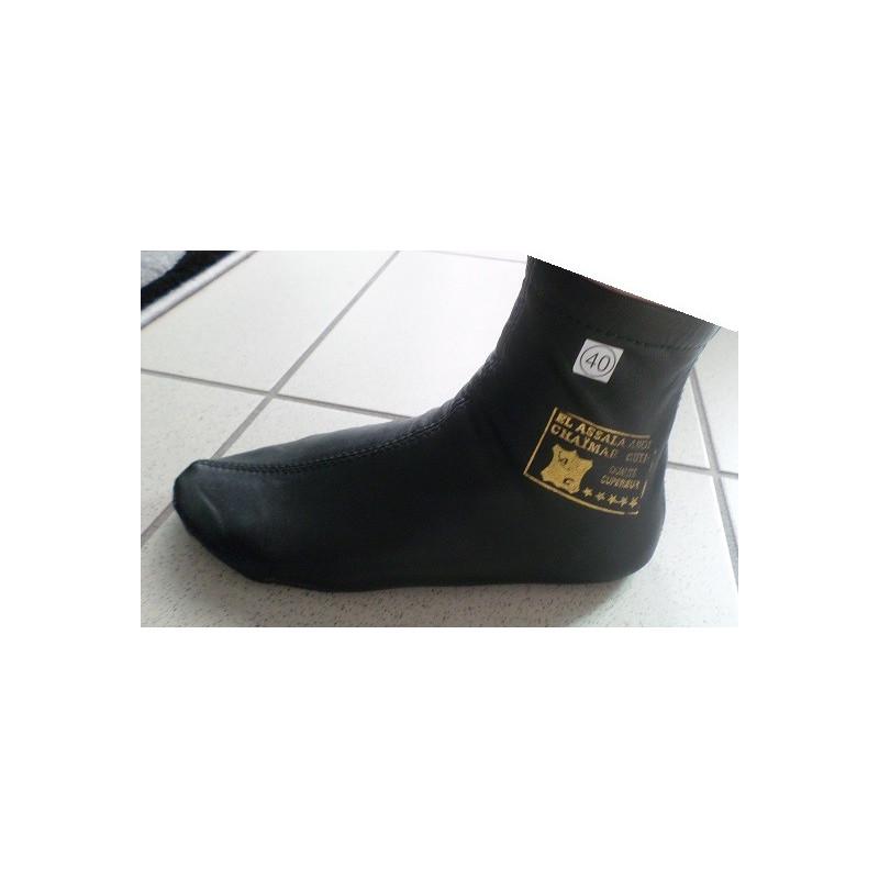 Khouff - Chaussons en cuir