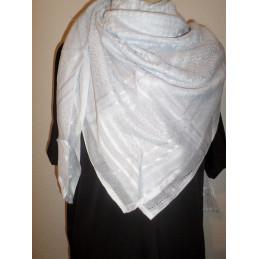 Keffieh - Foulard palestinien Blanc