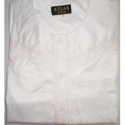 Qamis Al Atlas Dubai - Blanc
