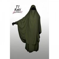 Jilbab Assalafiyat 2 pièces